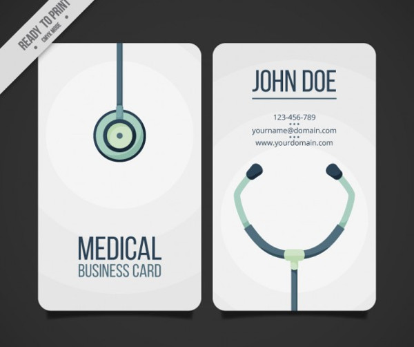 Medical Business Card Template Free Download