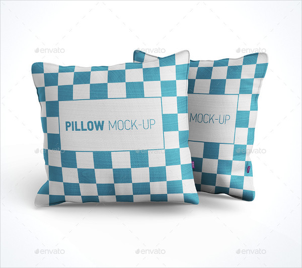 Photorealistic Pillow Mock-Up