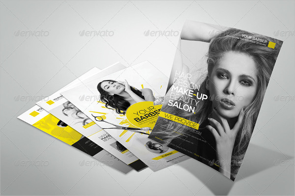 Premium Hair Salon Flyer Templates