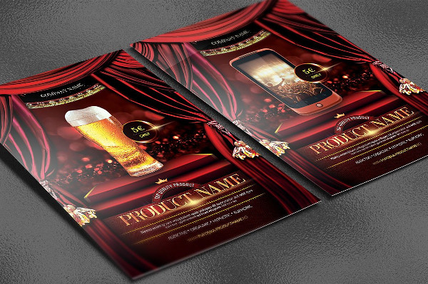 Creative Product Showcase Flyer