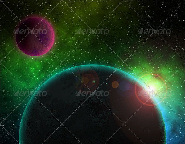 HD Outer Space Backgrounds