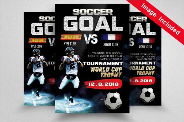 Photoshop Football Goal Template