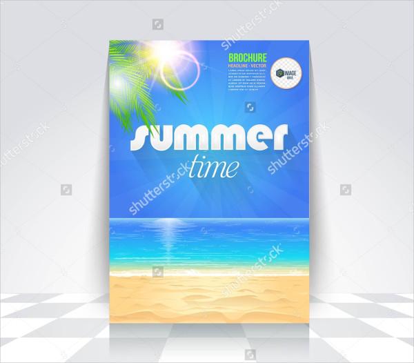 Summer Travel Time Flyer Design