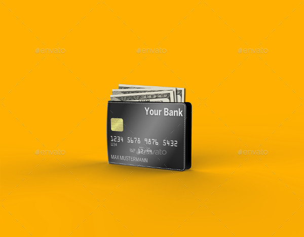 Wallet Credit Card Mockup Templates