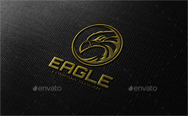 Editable Eagle Logo Templates