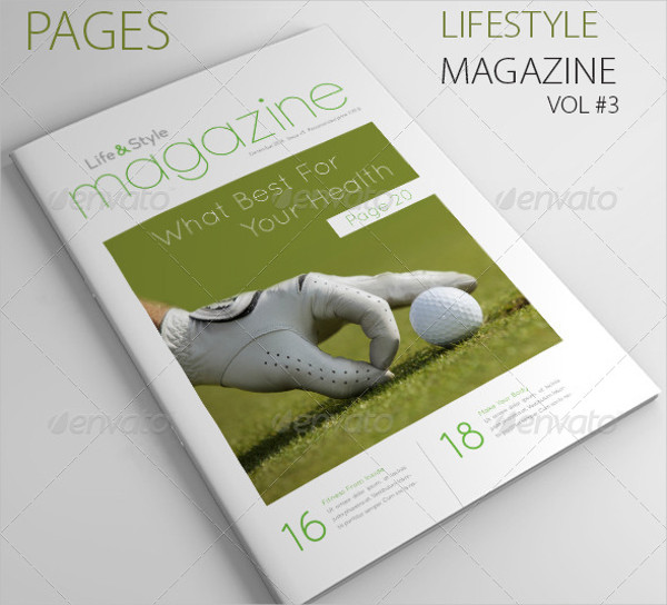 25 Pages Life & Style Magazine Template