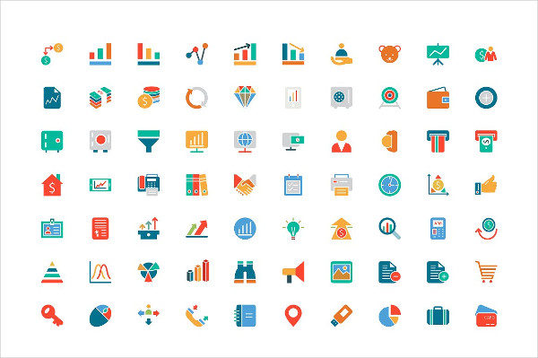 250 Finance Colored Icons