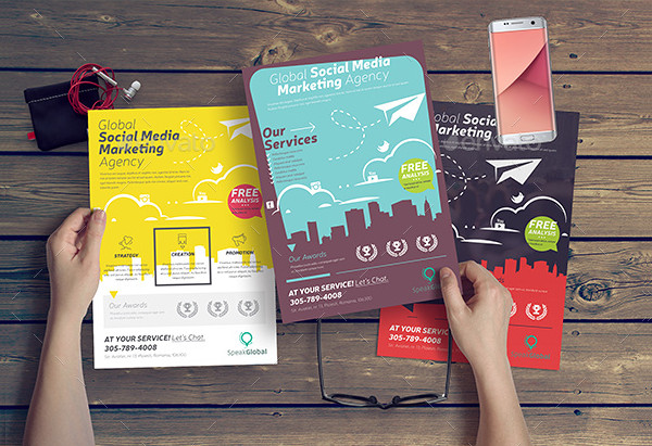 Amazing Social Media Flyer Template
