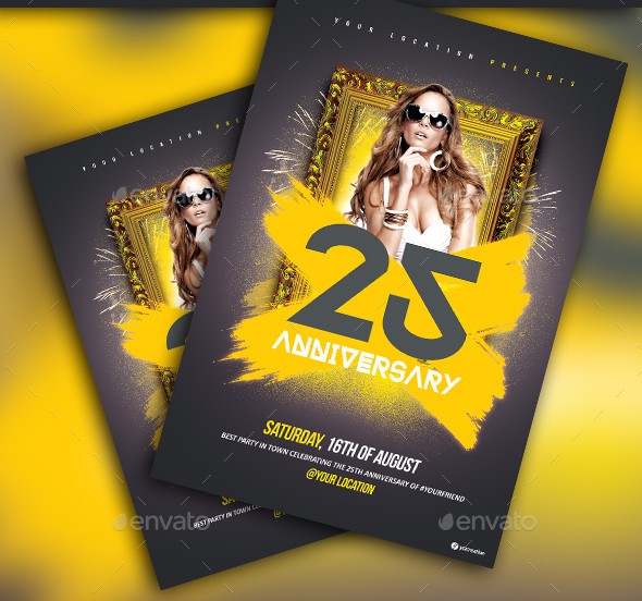 Special Anniversary Flyer