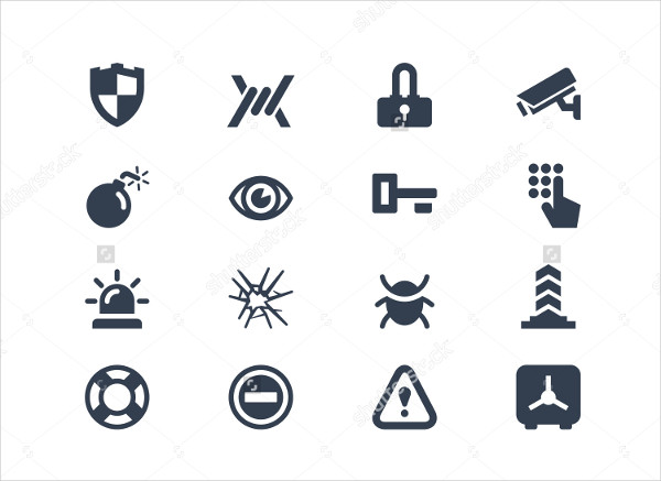 Security Vector Design Icon Pack