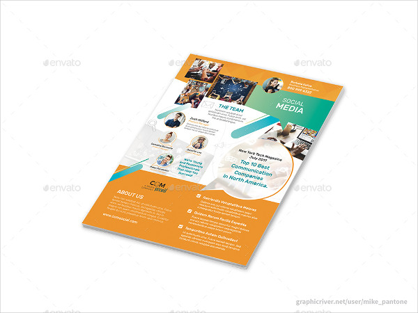 Clean and Modern Flyers for Advertising