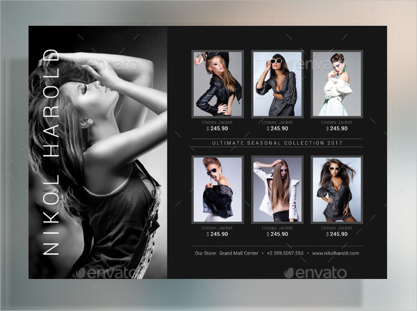 Fashion Products Promoting Flyer Template