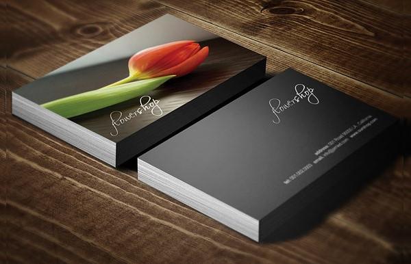 New Flower Shop Business Card