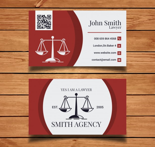 Free Download Lawyer Business Card Design