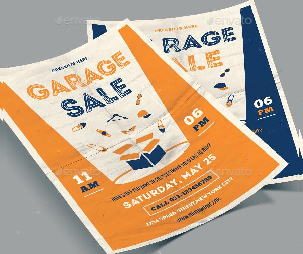 Yard Sale Flyer Samples Photoshop