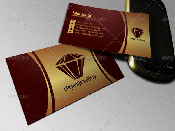 Best Jewelry Business Card