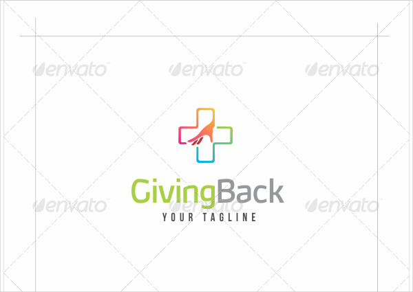 Helping Hand Logo Template