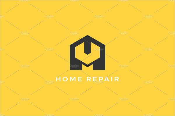 Home Repair Service Shop Logo