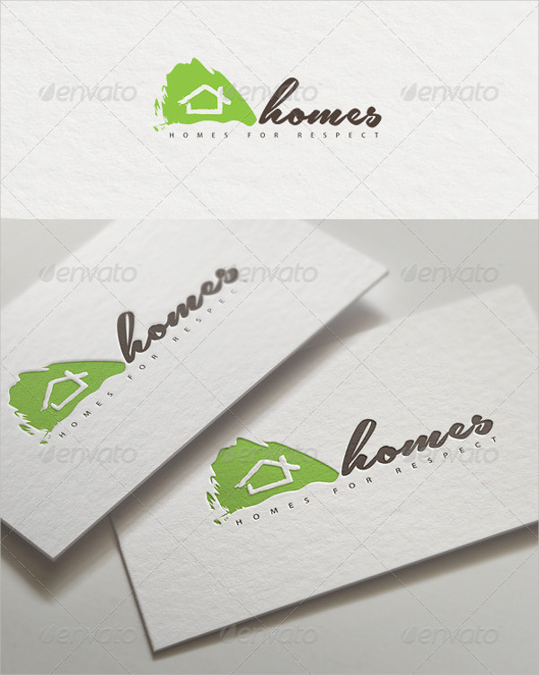 Real Estate Homes Logo