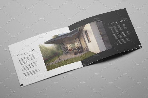 Unique Interior Brochure Template