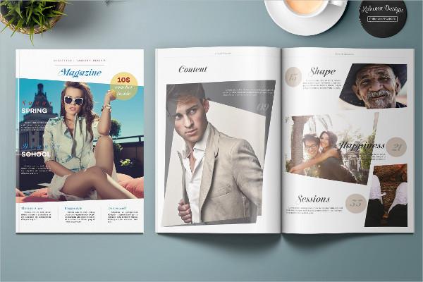 Universal Lifestyle & Fashion Magazines Template