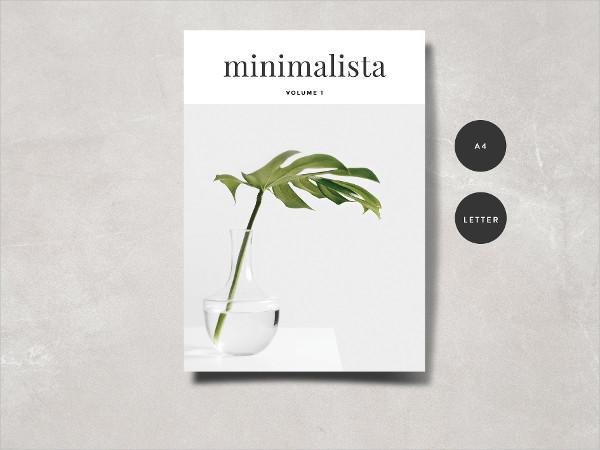 Minimalistic Magazine Portfolio Template