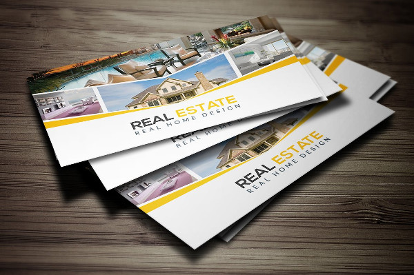 Best Real Estate Business Card Design