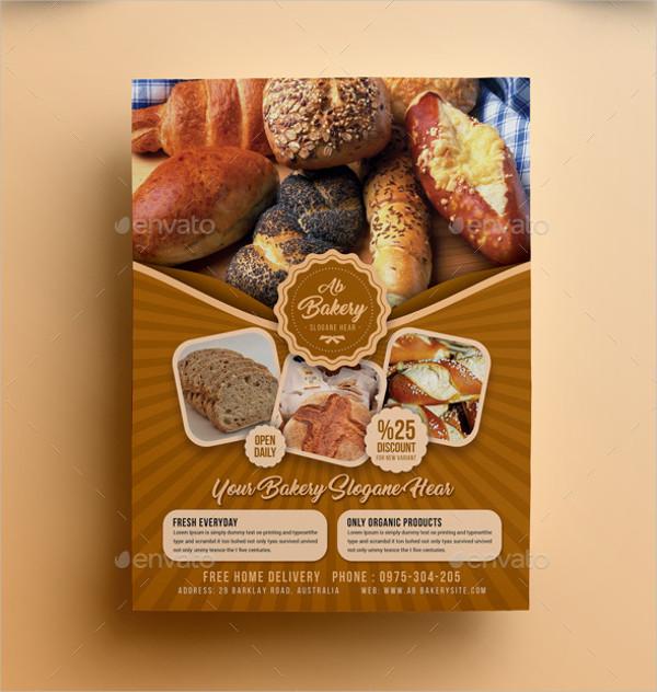 Bakery House Promotion Flyer