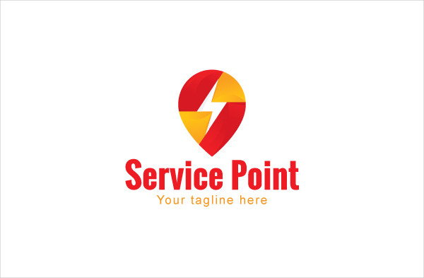 Service Point Logo Template