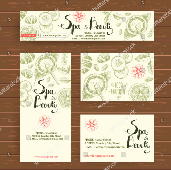 Business Card for Spa Salon