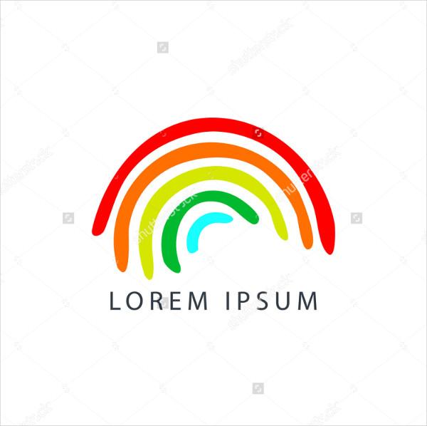Vector Brand Rainbow Logo