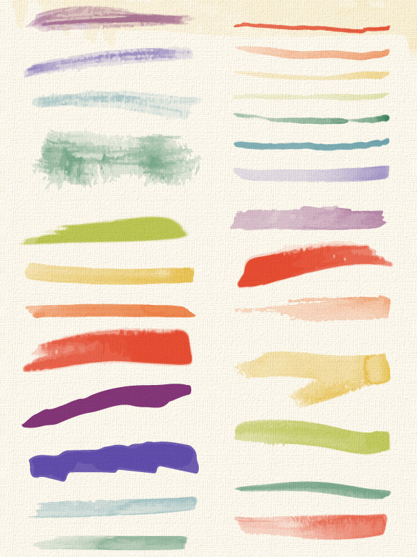 Set of Soft Textures & Brushes