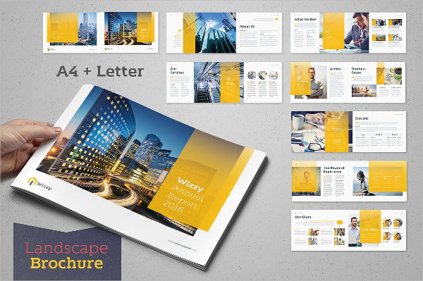 16 Pages InDesign Brochure