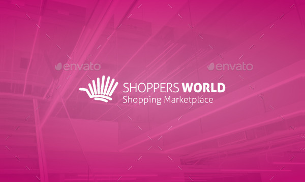 World Shoppers Logo Template