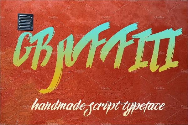 Stylish Graffiti Script Fonts