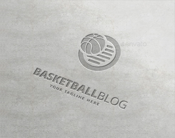 Basketball Blog Logo Template