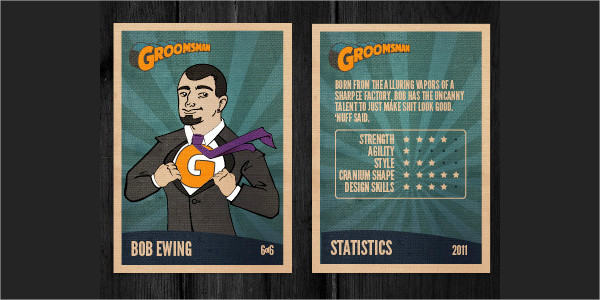 Awesome Design Trading Card Templates