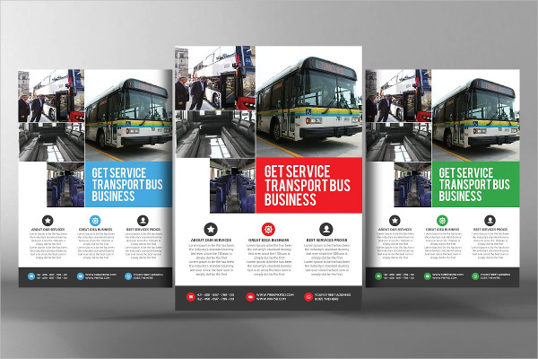 Clean Transport Business Agency Flyer
