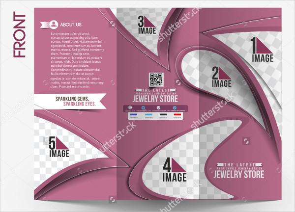 Jewelry Store Design Brochure