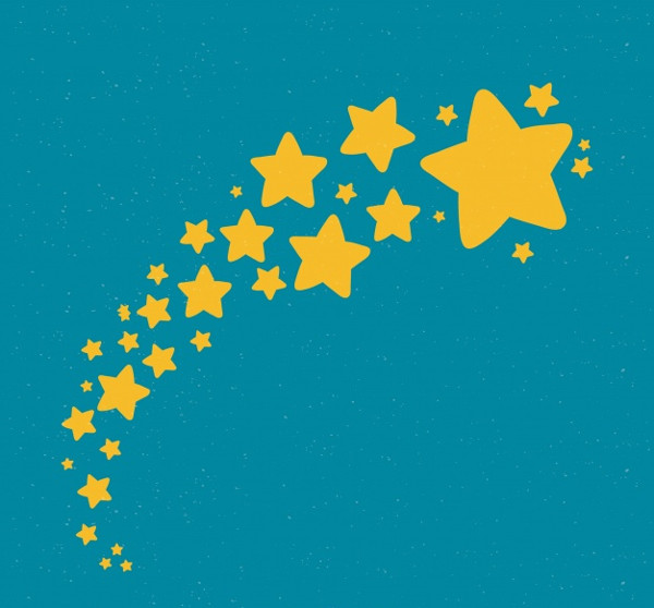 Cute Stars Background Free Download