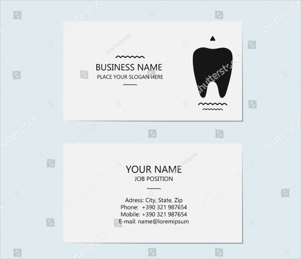 Design Business Card for Dentist
