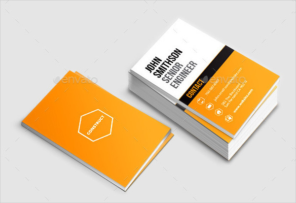 Ready to Print Construct Business Card