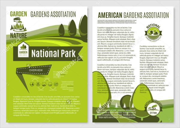 Landscape Garden Services Brochure Templates