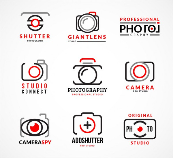 Collection of Photography Logos Free Download
