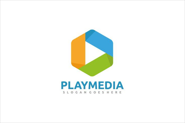 Free Play Media Logo Template Download