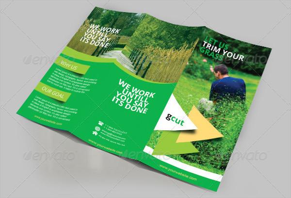 Gardening Three Fold Brochure