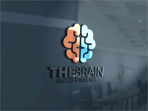 Best Brain Logo Template