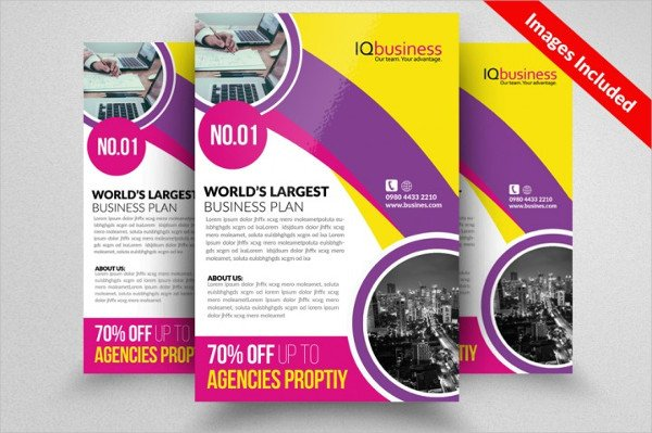 Insurance Consulting Flyer Design