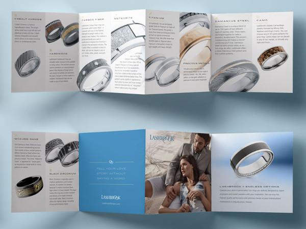 Attractive Jewelry Brochures