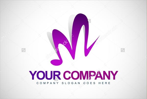Musical Letter M Logo Ideas